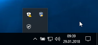 Windows10-Systemtray